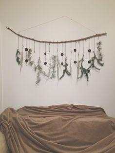 DIY Christmas decor #christmas #diy  #decoration #evergreen #decor #onabudget #xmas