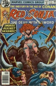 Red Sonja #13 - Swords Against Skranos! (Issue)