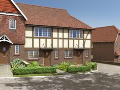 The Bignor is a 2 bedroom new home at Clayshaw Place with a well-designed kitchen and a comfortable living and dining room with French doors opening onto the garden. There are two double bedrooms and a family bathroom. A lovely family home in a village location.