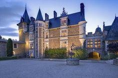 château de La Colaissière.Saint-Sauveur-de-Landemont, Pays-de-la-Loire.