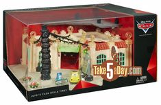 Mattel Disney Pixar CARS Precision Series Luigi Della Casa House of Tires (15% Off Sale) - Amazon