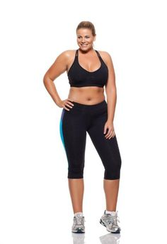 Look at this lady, she is fit but still plus size, I'm going to look at this site for inspiration. No way will my frame ever support a size 6