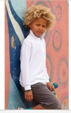Fruit Of The Loom Childrens Long Sleeve Pique Polo Popped Collar, Fruit Of The Loom, Beautiful Boys, Polo Shirts, Long Sleeve, Kids, Men, London, Collection