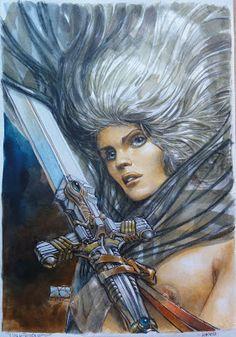 Les Héroïnes de BD: Honorata ( La Caste des Méta-barons )