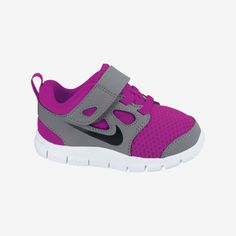 Nike Free 5.0 (2c-10c) Infant/Toddler Girls' Running Shoe