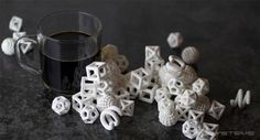 3D printed sugar..