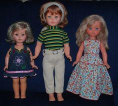 3 Furga vecchio marchio:da sinistra Dentina, 'I love Ringo' e Francesca