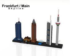 LEGO Ideas - Frankfurt/Main Skyline - Lego Architecture (Frankfurt am Main)