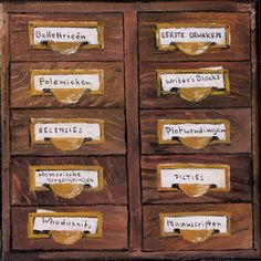 Het Ladenblokje van de Romanschrijver - oil on canvas - cm - € 275 Bari, Oil On Canvas, Paintings, Food, Paint, Painting Art, Essen, Meals, Painting