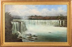 19th Century Paintings - Bedford Fine Art Gallery - 19th Century Art for Sale Canadian Artists, American Artists, School Painting, Art Auction, Fine Art Gallery, Paintings For Sale, Niagara Falls, Art For Sale, Landscape Paintings