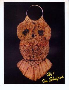 macrame owl | Macrame | Pinterest