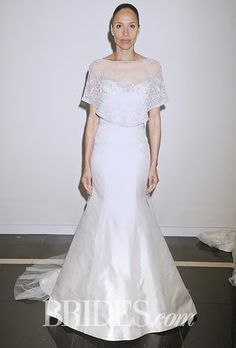 Plus-Size Wedding Dress Trends from Fall 2015 Bridal Runways : Brides.com