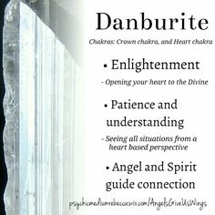 Danburite crystal meaning