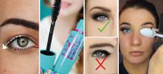 10 tips de maquillaje para párpados caídos - Mujer de 10 Air Bra, Smoky Eye, Eyebrows, Special Occasion, Eye Makeup, Beauty Hacks, Fragrance, Eyeshadow, Hair Beauty