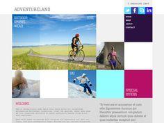 Moonfruit Template - Adventure #website #design