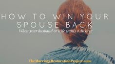 If your wife wants a divorce or your husband wants a divorce, listen to this important podcast episode. #onlinemarriagecounseling #marriageretreat