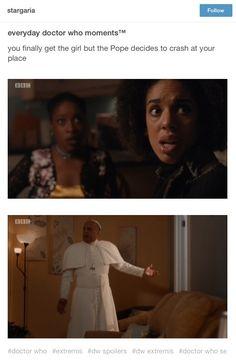 Doctor Who Extremis Series 10 Peter Capaldi Twelfth Doctor Pearl Mackie Bill Potts Season 10