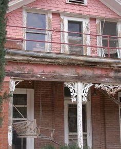 Abandoned house -- and abandoned doll. Clifton, Az