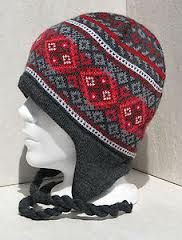Knitting Patterns For Nordic Hats : nordic hat ear flaps - Google Search hat ideas Pinterest Hats, Search a...