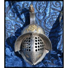 Gladiator Helmet with Eagle and Medusa - Only £555!!
