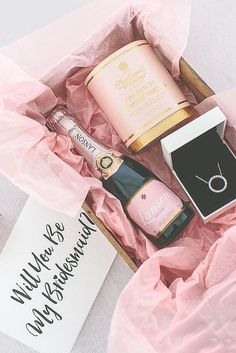 15 Super Fabulous Bridesmaid Proposal Ideas ❤ See more: http://www.weddingforward.com/bridesmaid-proposal-ideas/ #wedding #bridesmaid #proposal