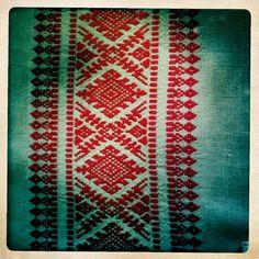 Routine Karelian pattern.