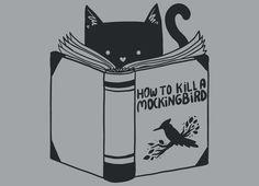 """How To Kill a Mockingbird"" by tobiasfonseca on mens t-shirts, mens v-necks, crew sweatshirts | Threadless"