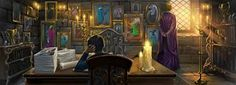 Rowling muses on character Gilderoy Lockhart for Pottermore - via Entertainment Weekly Harry Potter Artwork, Harry Potter Characters, Welcome To Hogwarts, Severus Rogue, Hogwarts Mystery, Sirius Black, Dark Art, Painting, Mischief Managed