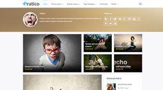 Pratico – Retina Responsive WordPress Blog Theme #magazine #theme #wordpress