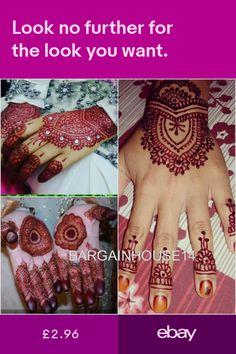 e15cb9446 Other Tattoos & Body Art Health & Beauty #ebay Arabic Henna, Golecha