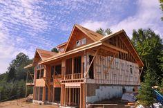 Construction d'une charpente de maison Viceroy