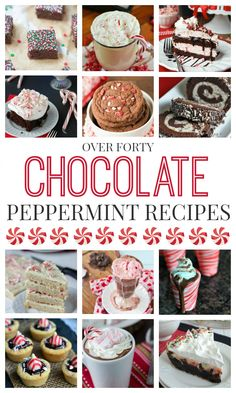 40 Chocolaste Peppermint Recipes - simple recipes for the home cook