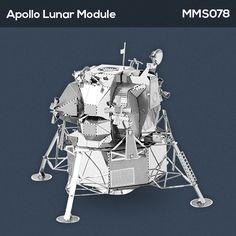 Was a two part spacecraft used to carry a crew of two from lunar orbit to the surface of the moon and back. The descent stage served as the launch pad for the ascent stage plus it housed the landing gear, engines and fuel needed for landing. Six such craft successfully landed on the Moon between 1969 and 1972.