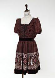 Chess piece dress from axes femme
