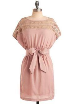 Pink Sand Beach Dress | Mod Retro Vintage Printed Dresses brookannwyss