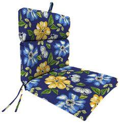 Jordan Manufacturing Plush Chair Cushion In Janice Royal Jordan  Manufacturing Http://www.