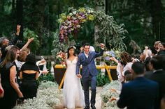 Casamento na Fazenda Santa Barbara | Monique + Binho | Vestida de Noiva | Blog de Casamento por Fernanda Floret