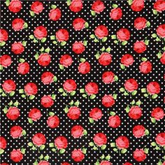 rose and polka dot bedding - Google Search