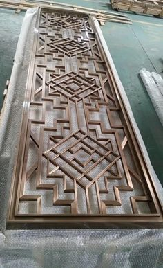 Chinese manufacturer of laser cut screens and modern metal furniture, specialize in custom design decorative metal products and ship worldwidely. Grill Gate Design, Balcony Grill Design, Front Gate Design, Main Gate Design, Door Gate Design, Room Door Design, Door Design Interior, Steel Railing Design, Decorative Metal Screen