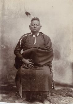 unknown, Wah-tian-kah (Osage) - 1865    Osage men - circa 1865   Pa-thin-non-pa-zhi (aka Not Afraid Of Pawnees, aka Joseph, aka Big Hill Joe, aka Governor Joe) – Osage – 1868   Osage man – 1868