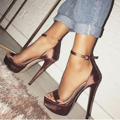 @FASHION_TOP0 platform heels / ankle strap / women's summer shoes from Lolashoetique
