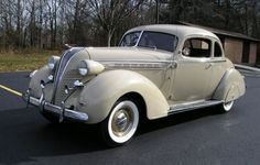 1937 Hudson Custom Eight Coupe