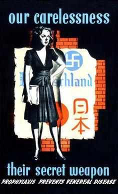The Amazing Anti-Venereal Disease Posters Of World World II