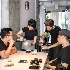 """Remember that what you now have was once among the things you only hoped for."" Epicurus  #PUNCHbrewbarapprentice #punch_sg #sg #igsg #sgig #instagramsg #photooftheday #v60 #coffee #hario #pourover #chemex #filtercoffee #singleorigin http://ift.tt/1U25kLY"