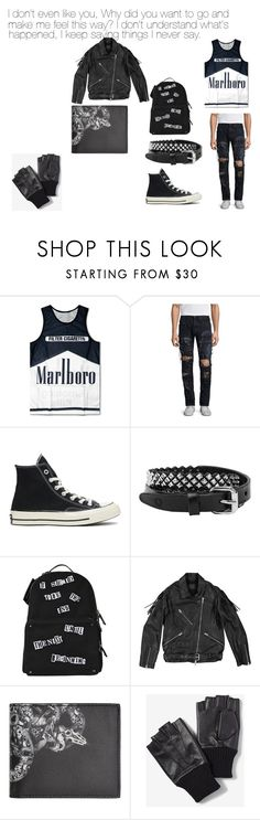 """""""5 Seconds of Summer- Voodoo Doll"""" by the-killer-of-dreams ❤ liked on Polyvore featuring PRPS, Converse, Rust Mood, Valentino, AllSaints, County Of Milan and Express"""
