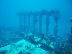 Wreck of the HMS Rhone off of Tortola BVI