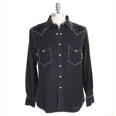 Ryan Michael Men's Classic Western Embroidered Shirt at Maverick Western Wear