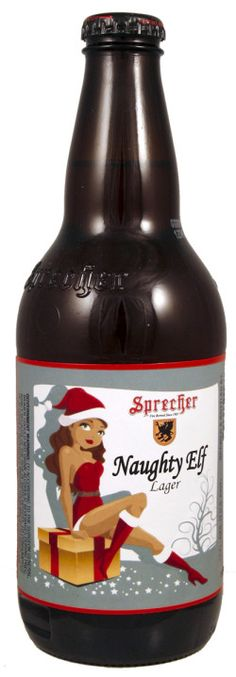 Sprecher Naughty Elf Lager a Amber Lager/Vienna beer by Sprecher Brewing Company, a brewery in Glendale, Wisconsin