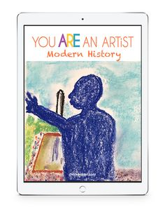 You ARE an artist with Modern History video art lessons! Plus, with just chalk pastels and construction paper there is no expensive list of art supplies. Chalk Pastel Art, Chalk Pastels, Art Room Doors, Art Curriculum, Art Courses, Modern History, Learn To Paint, All Art, Art Lessons