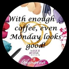 Morning Avon-istas!! It's order day so get some coffee down you & head over to my online store: ow.ly/A0Cr30auYxr #Avon #Beauty #Cosmetics #Fashion #Skincare #Haircare #Homeware #Shopping